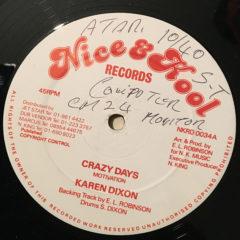 Crazy Days – Karen Dixon