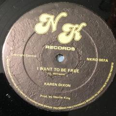 I Want To Be Free – Karen Dixon